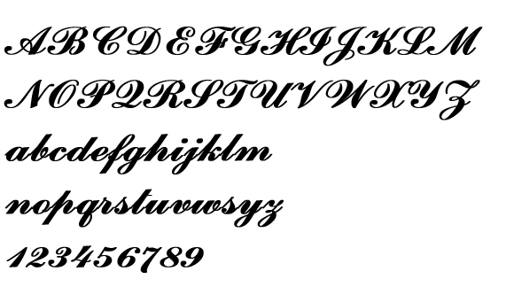 ウェルカムボード文字