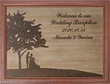 ウェルカムボード・木彫り