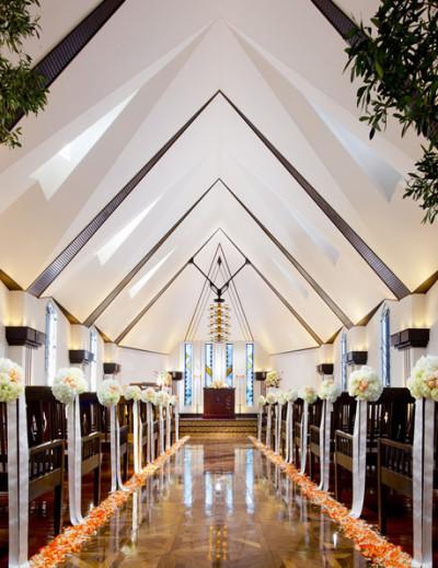 フェリスクレールの教会内装