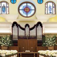 帝国ホテル 大阪の教会内