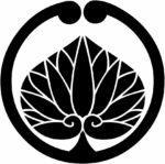 家紋・蔓に一つ葵