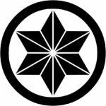 家紋・丸に麻の葉