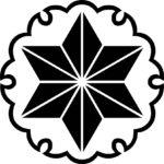 家紋・雪輪に麻の葉