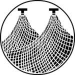 家紋・丸に三つ網
