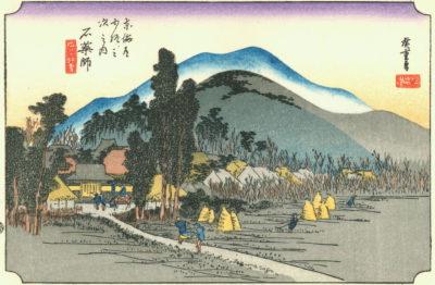 東海道五十三次・石薬師