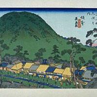 木曽海道坂本宿