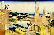 浮世絵・富嶽三十六景「本所立川」