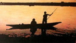 ウェルカムボード・二人の船出拡大1