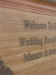 木製ウェルカムボード・シルエットタイプ